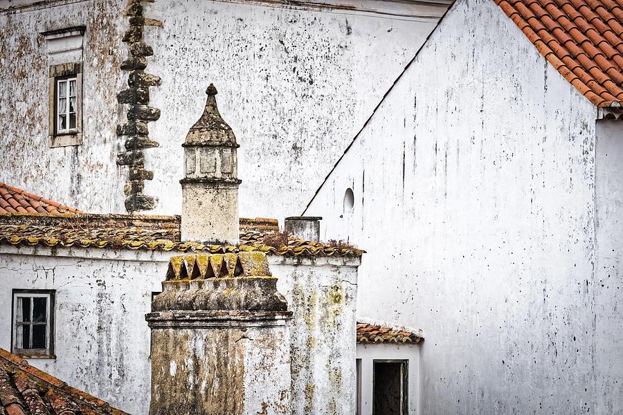 Obidos Architecture - Portugal by Stuart Litoff