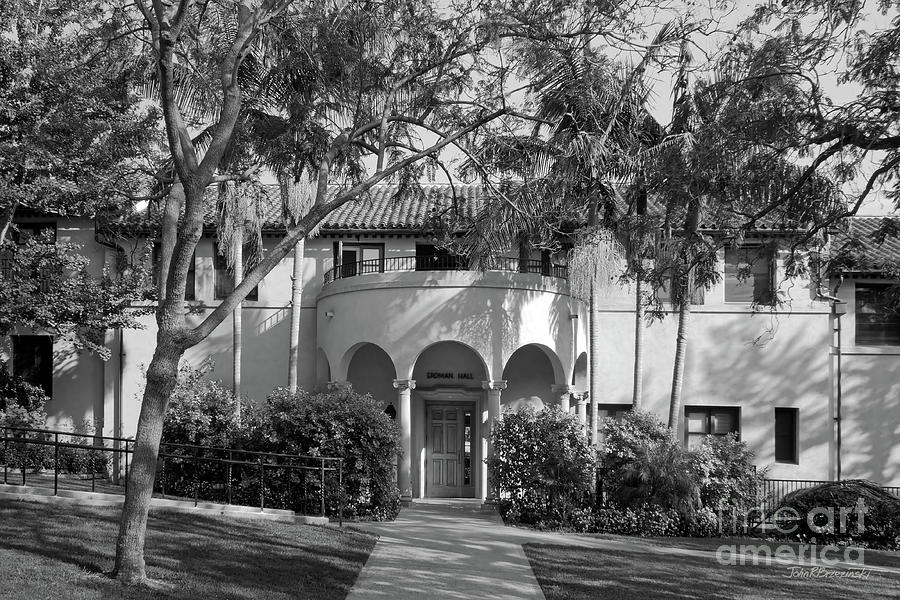 Occidental College Photograph - Occidental College Erdman Hall by University Icons