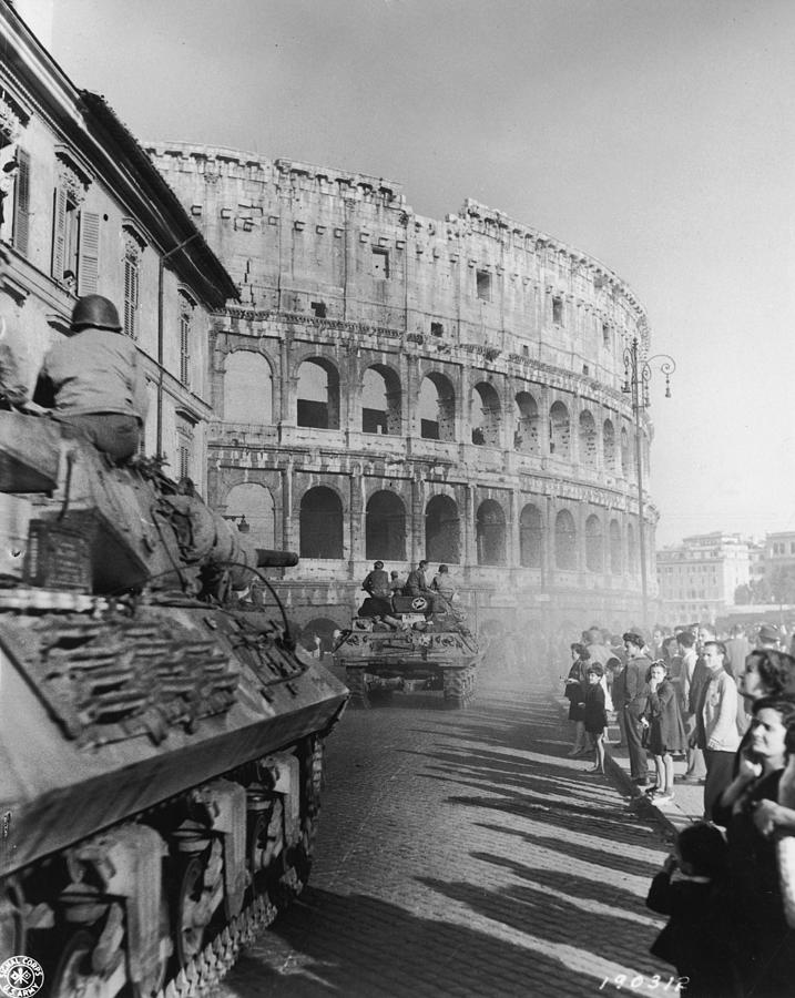 Occupation Of Rome Photograph by Hulton Archive