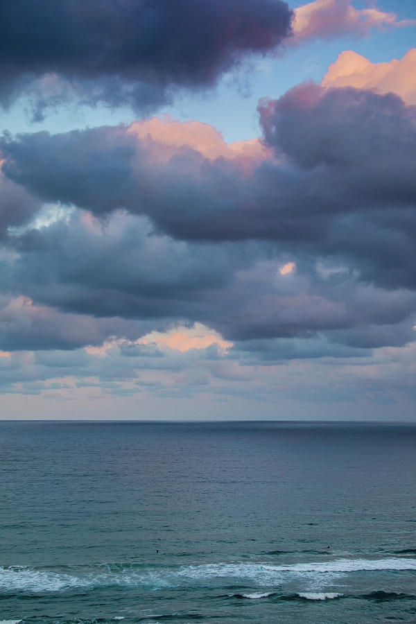 Ocean and Clouds by Uncle Arny