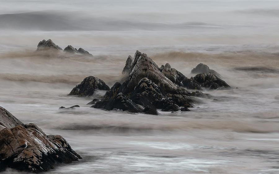 Ocean Chaos - Tasmania Photograph