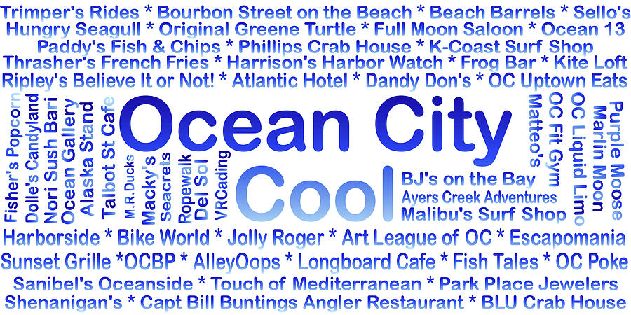 Ocean City MD Businesses by Robert Banach