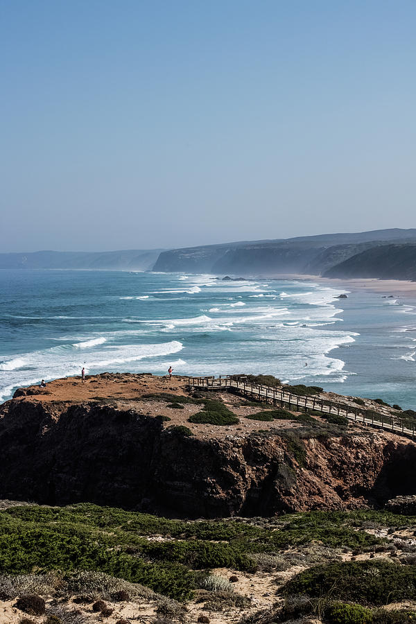 Ocean Coast View I by Anne Leven