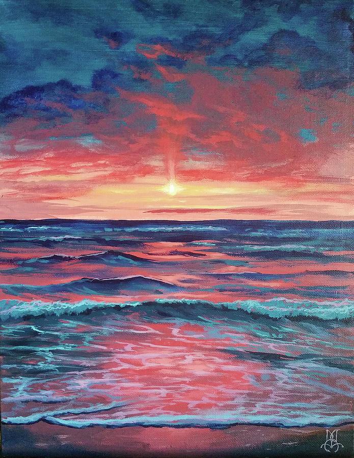 Ocean Dreaming Painting