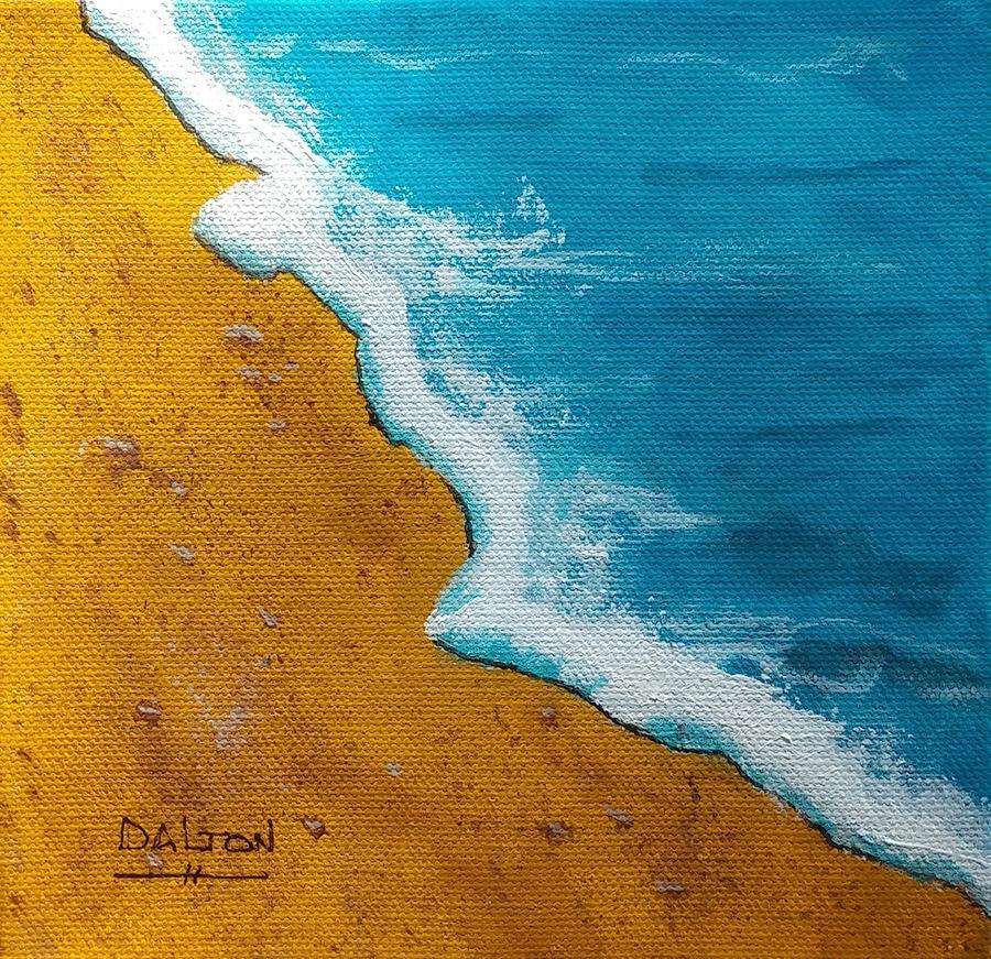 Ocean Painting - Ocean Drive by George Dalton