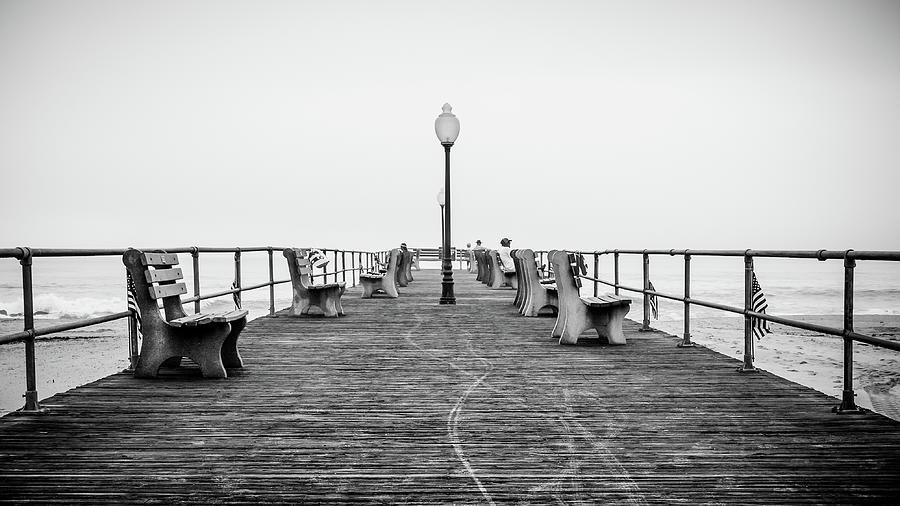 Beach Photograph - Ocean Grove Pier 1 by Steve Stanger