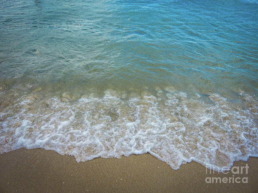 Beach Photograph - Ocean Meets Shore by Gina Matarazzo