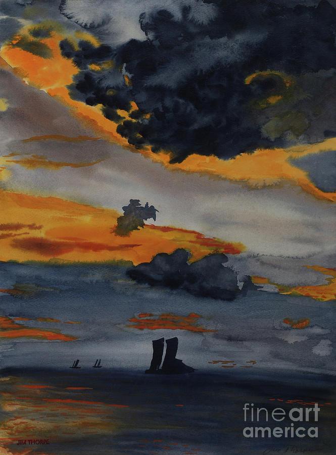 Ocean Meets Sky by Dee Leah G