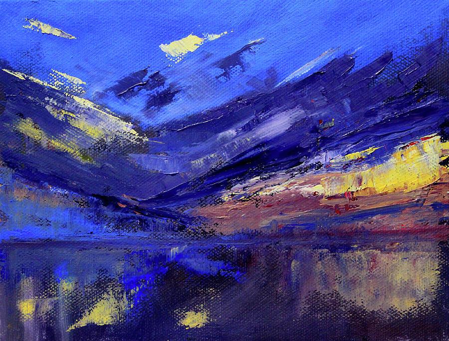 Ocean Sunrise Painting - Ocean  by Nancy Merkle