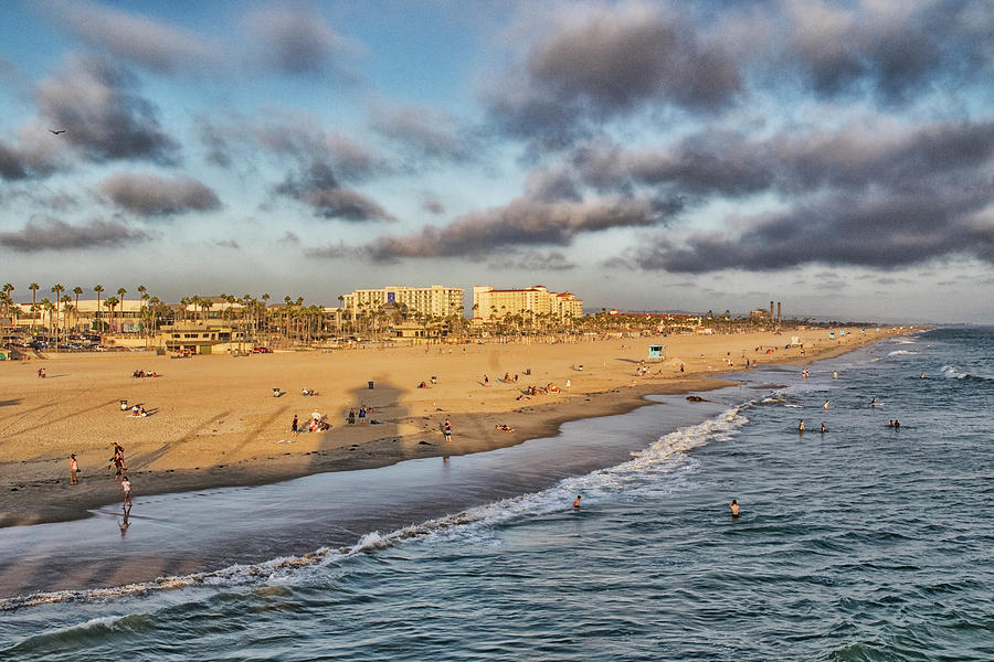 Ocean Play Photograph