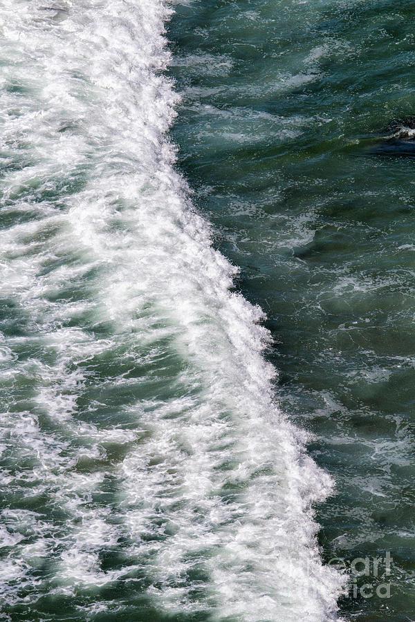 Ocean Power Abstract by Sonya Lang