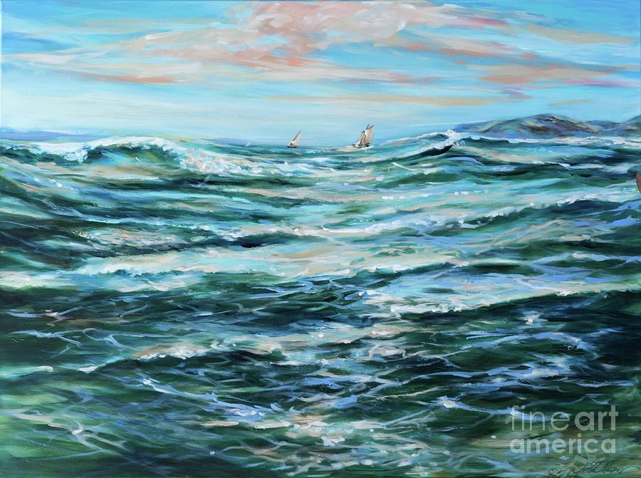 Ocean Sail by Linda Olsen