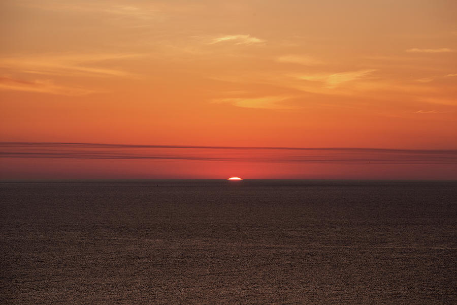 Ocean Sunrise by John Daly