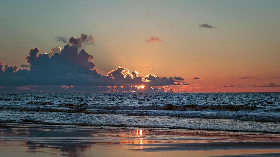 Ocean Sunrise by Van Sutherland