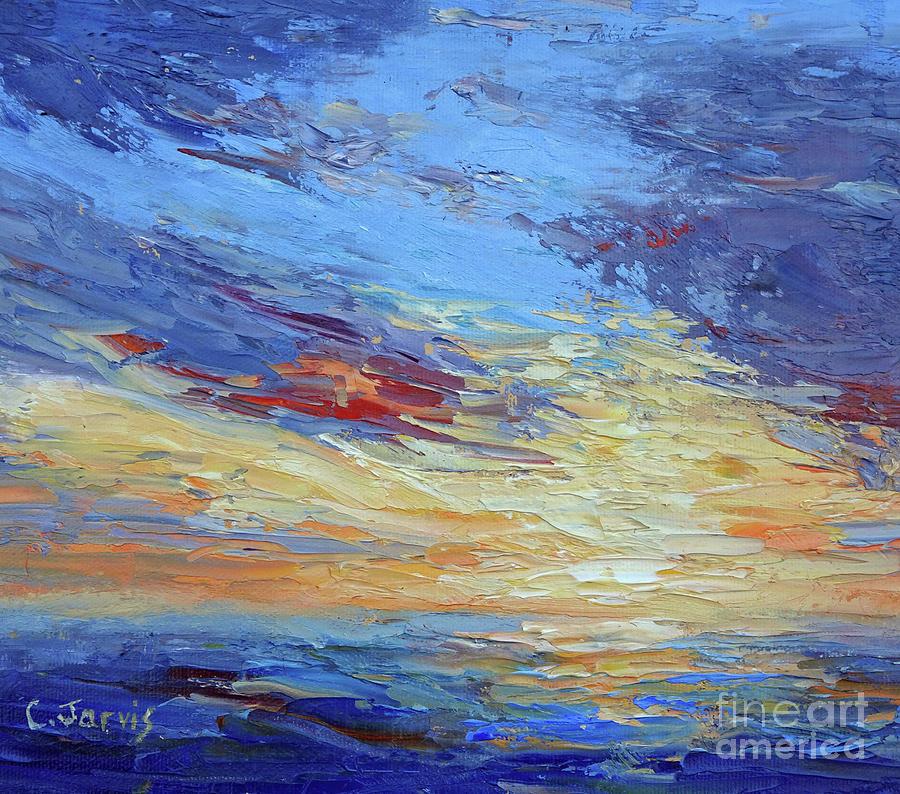 Ocean Sunset by Carolyn Jarvis