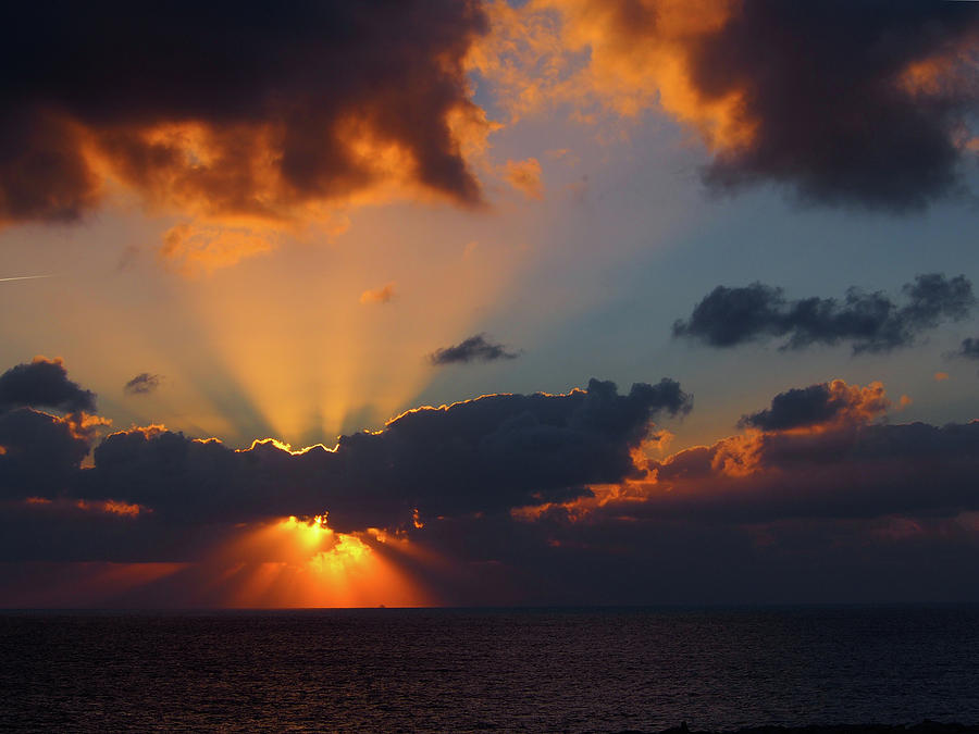 Ocean Sunset by Philip Openshaw