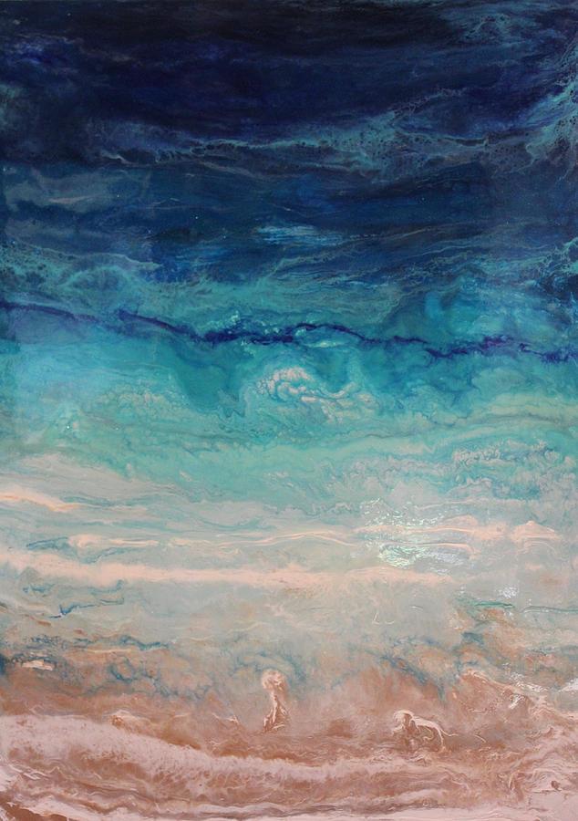 Ocean Tides Painting by Kelly Gowan