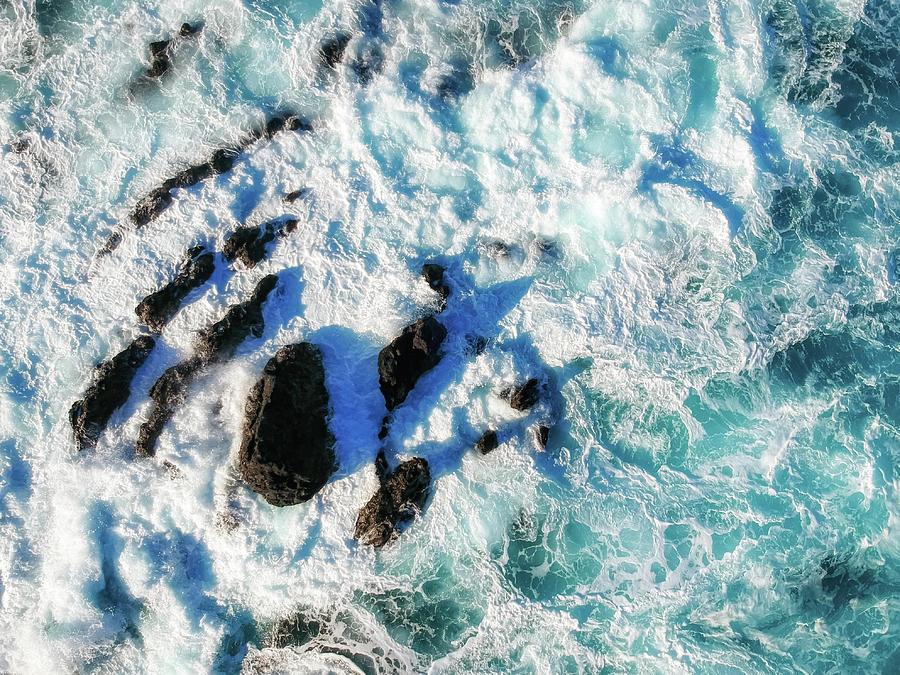 Ocean Turbulence by Christopher Johnson