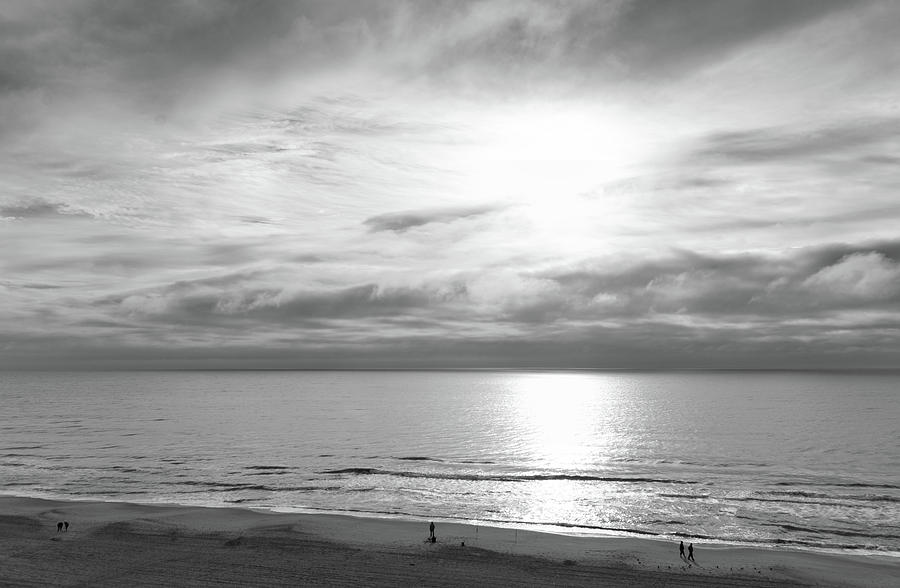 Ocean View Black and White by Andrea Anderegg