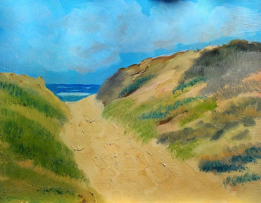 Sea Painting - Ocean View by George Dalton