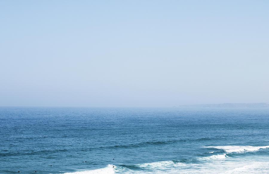 Ocean View In Summer by Anne Leven