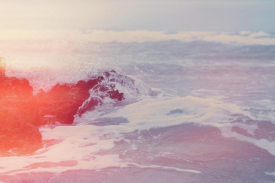 Atlantic Ocean Photograph - Ocean Vintage Iv by Anne Leven