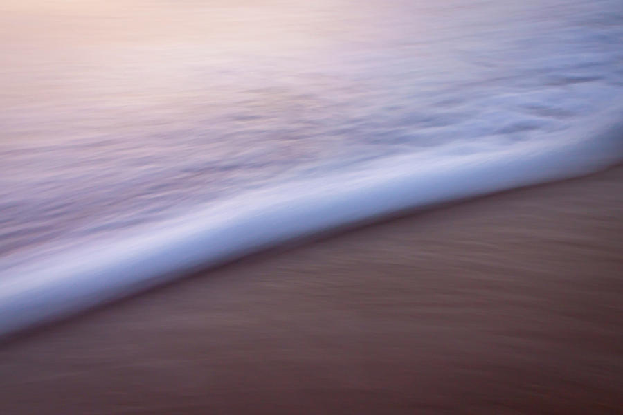 Ocean Wave Abstract by R Scott Duncan