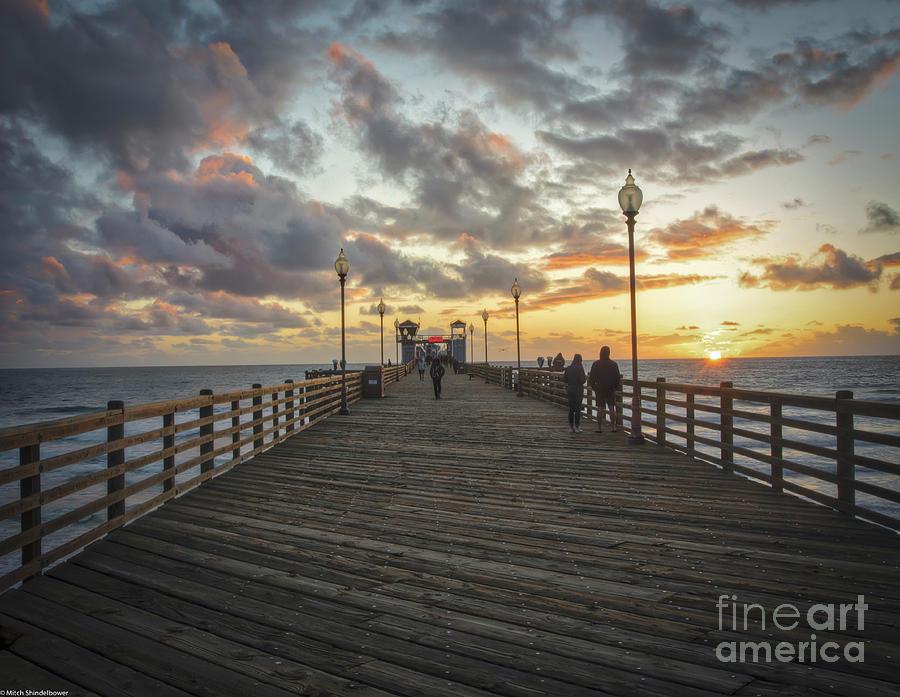 Oceanside Pier by Mitch Shindelbower