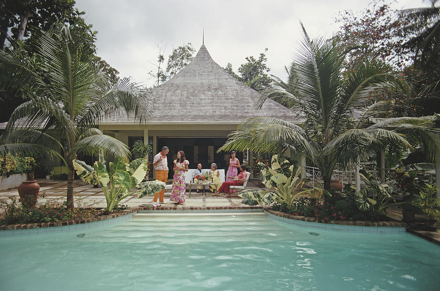 Ocho Rios, Jamaica Photograph by Slim Aarons