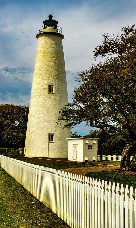 Ocracoke Lighthouse at Dusk by Norma Brandsberg