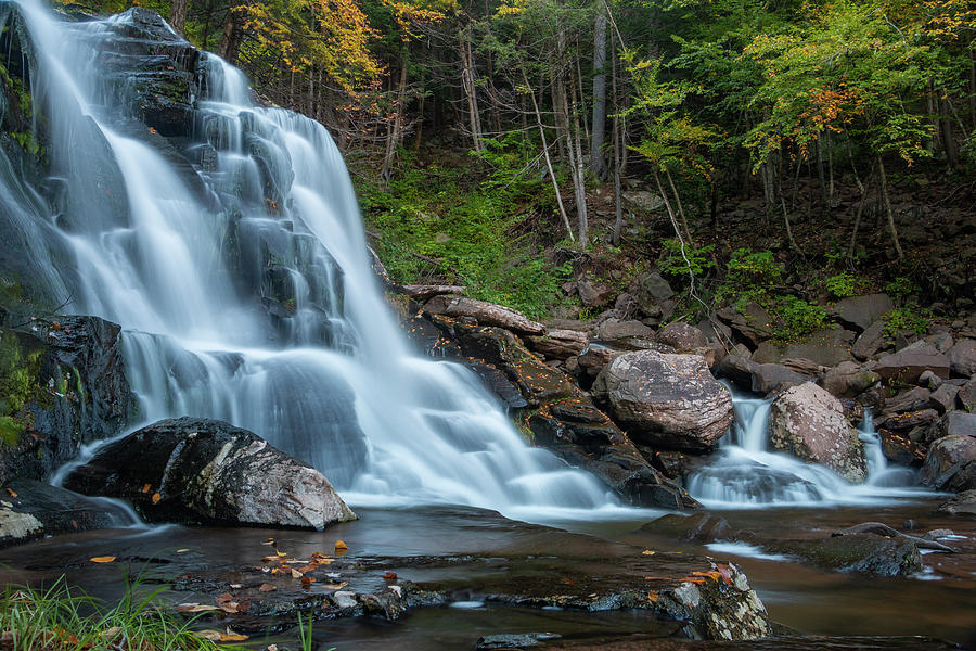 Bastion Falls Photograph - October Morning At Bastion Falls II by Jeff Severson