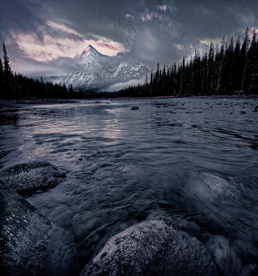 October Morning in Jasper by Dan Jurak