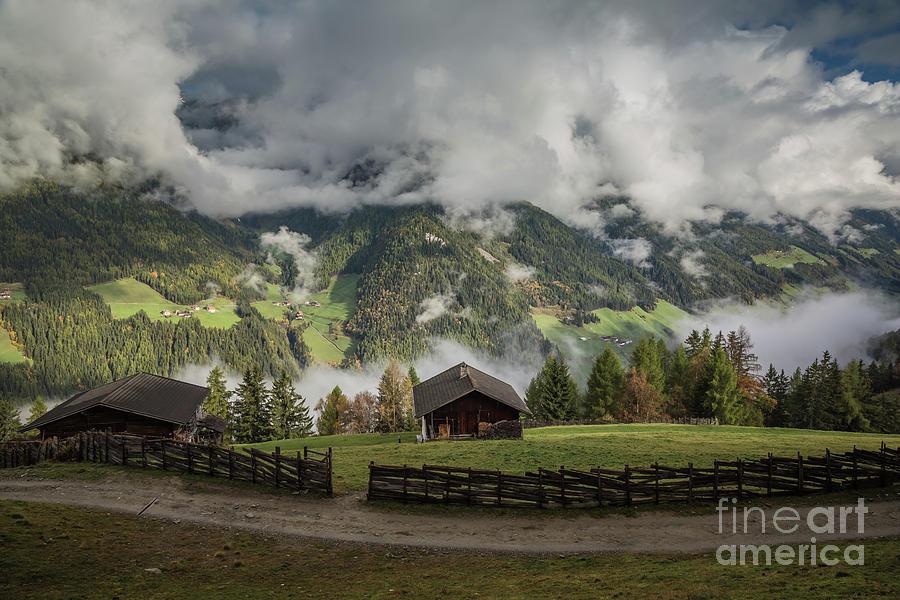 October Morning in Zillertal by Eva Lechner
