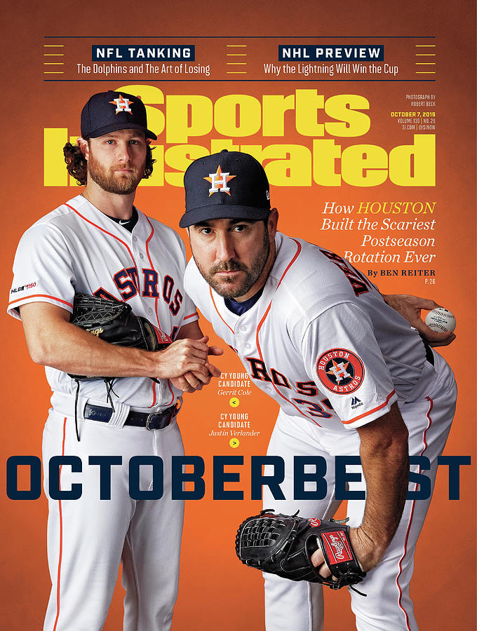 Octoberbest How Houston Built The Scariest Postseason Sports Illustrated Cover Photograph by Sports Illustrated