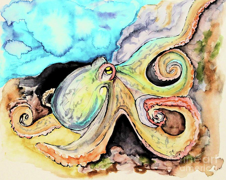 Octopus by Alorah Tout
