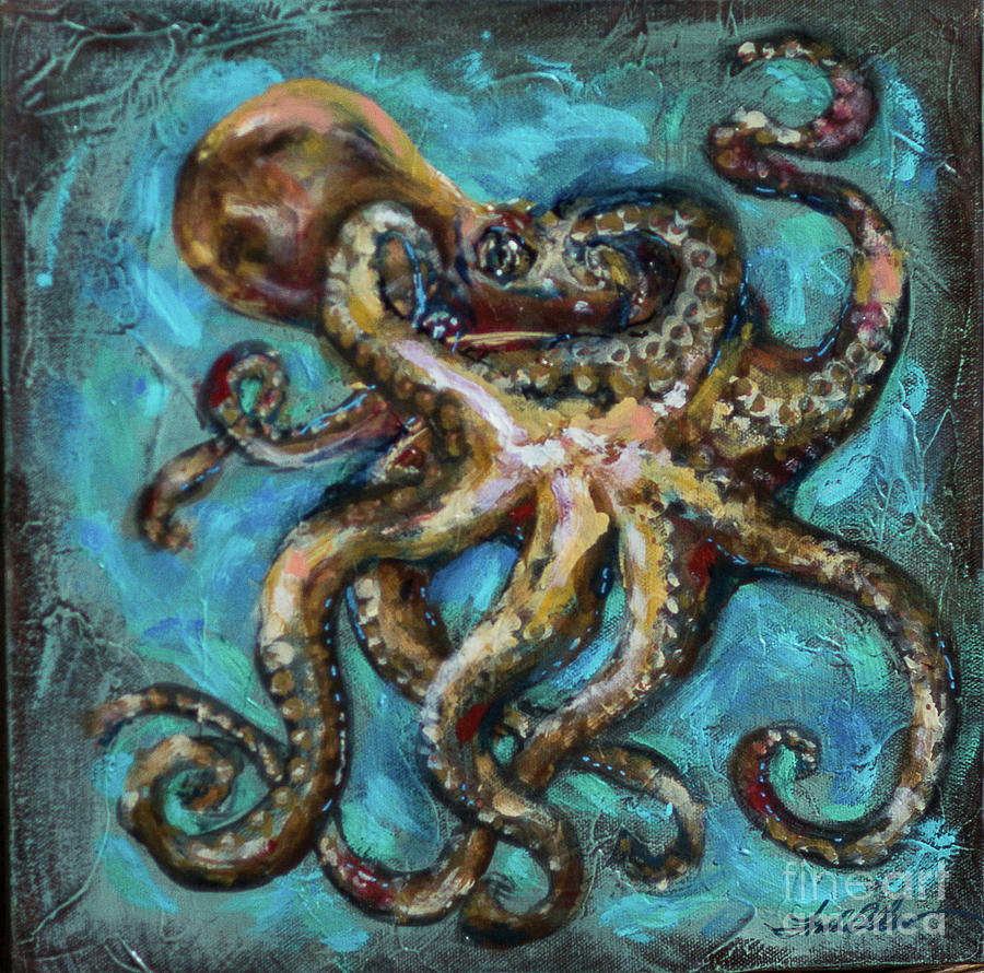 Octopus Copper by Linda Olsen