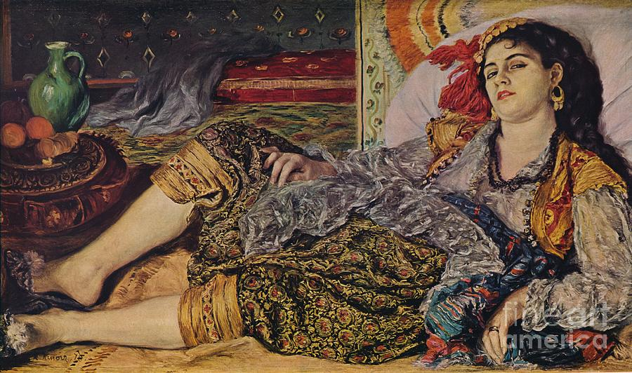 Odalisque Drawing by Print Collector