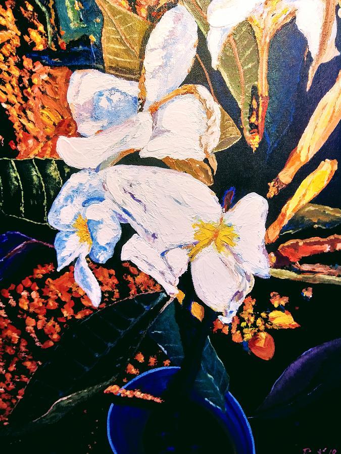 Odd shape flowers by Ray Khalife