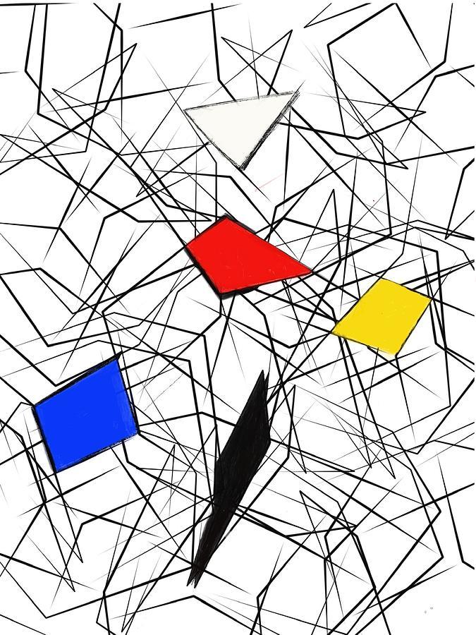 Ode Mondriaan by John Carroll