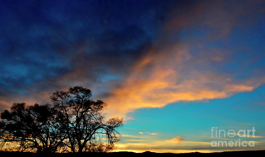New Mexico Photograph - Ode To A New Mexico Sunset 1 by Debby Pueschel