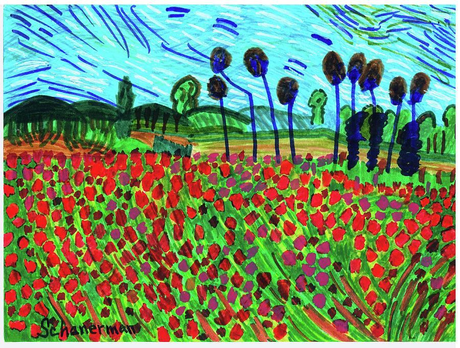 Ode To Van Gogh by Susan Schanerman
