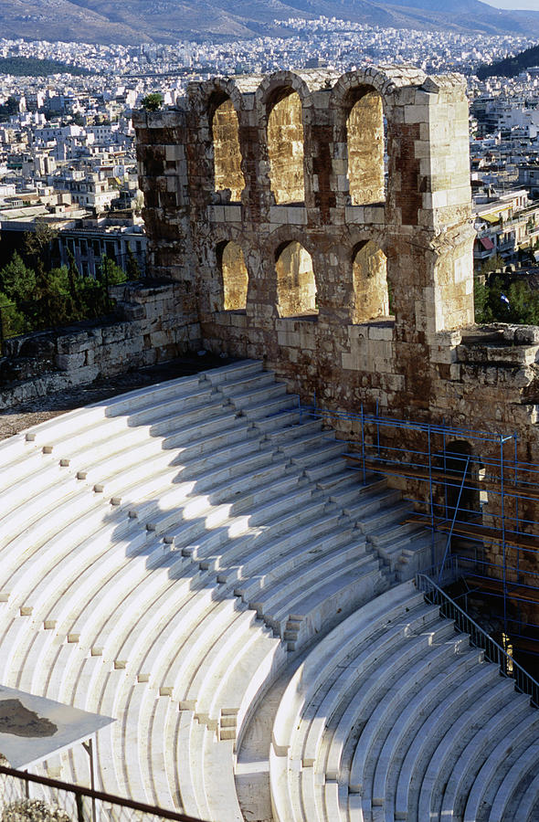 Odeion Of Herodes Atticus, Circa 160 Photograph by Lonely Planet