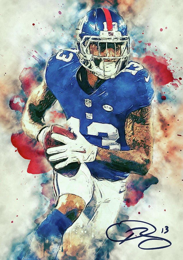 Odell Beckham Jr. Digital Art
