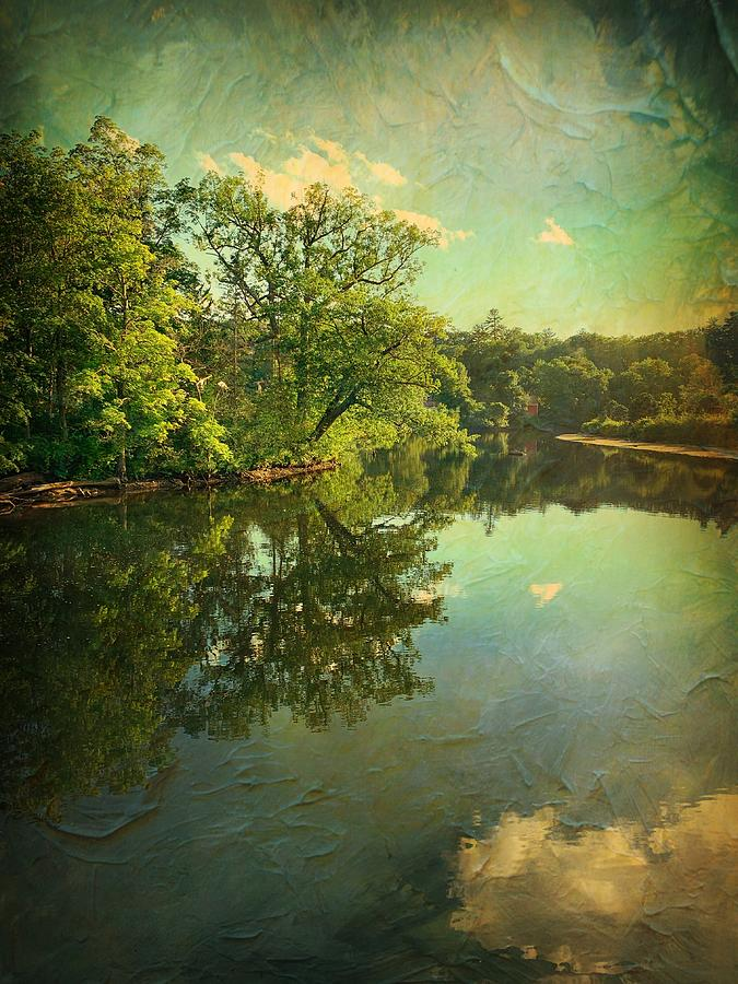 Odell Park View  by Betty Pauwels