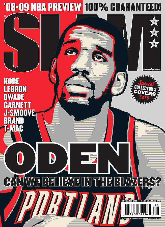 Oden: Can We Believe in the Blazers?  SLAM Cover Photograph by Slam