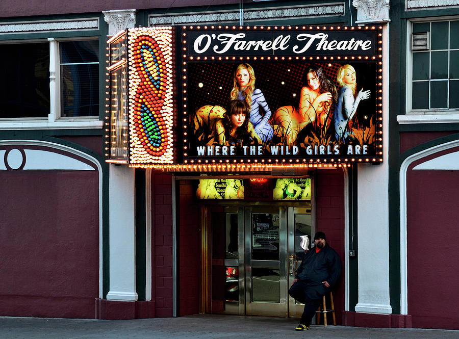 O'Farrell Theatre entrance by RicardMN Photography