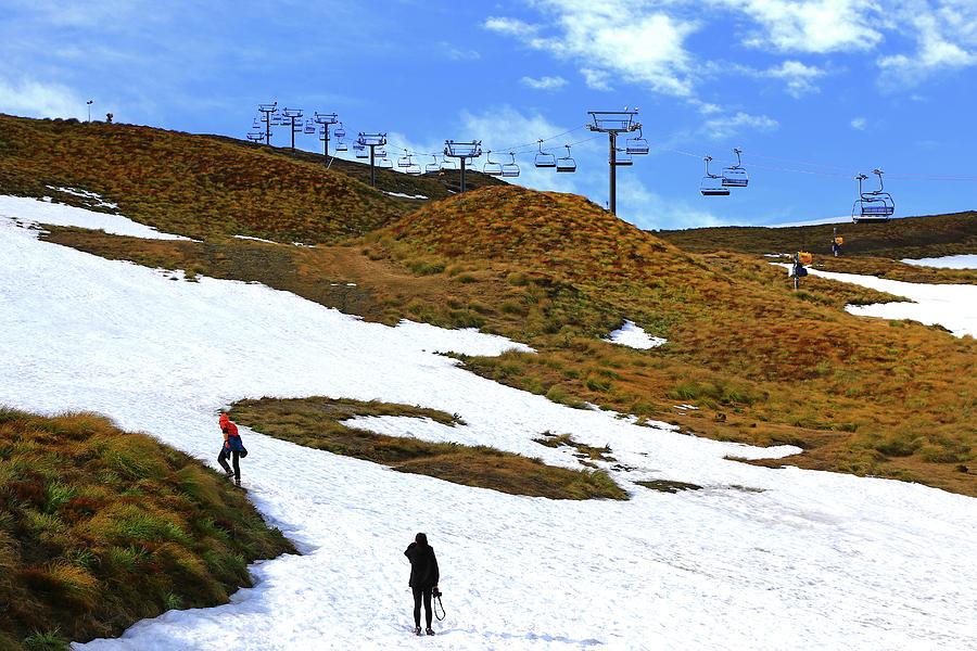 Off Season Skifield by Nareeta Martin