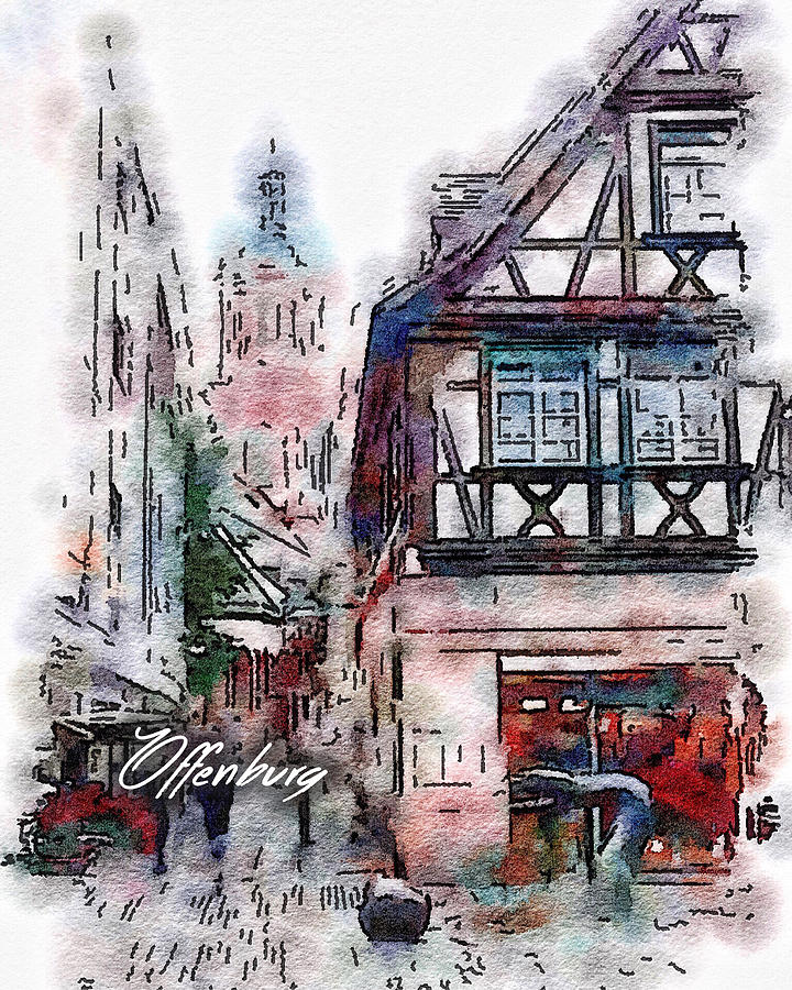 Offenburg, Germany by Painterly Images
