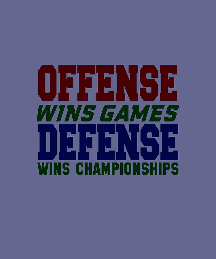 Offence Defense Digital Art by Shopzify