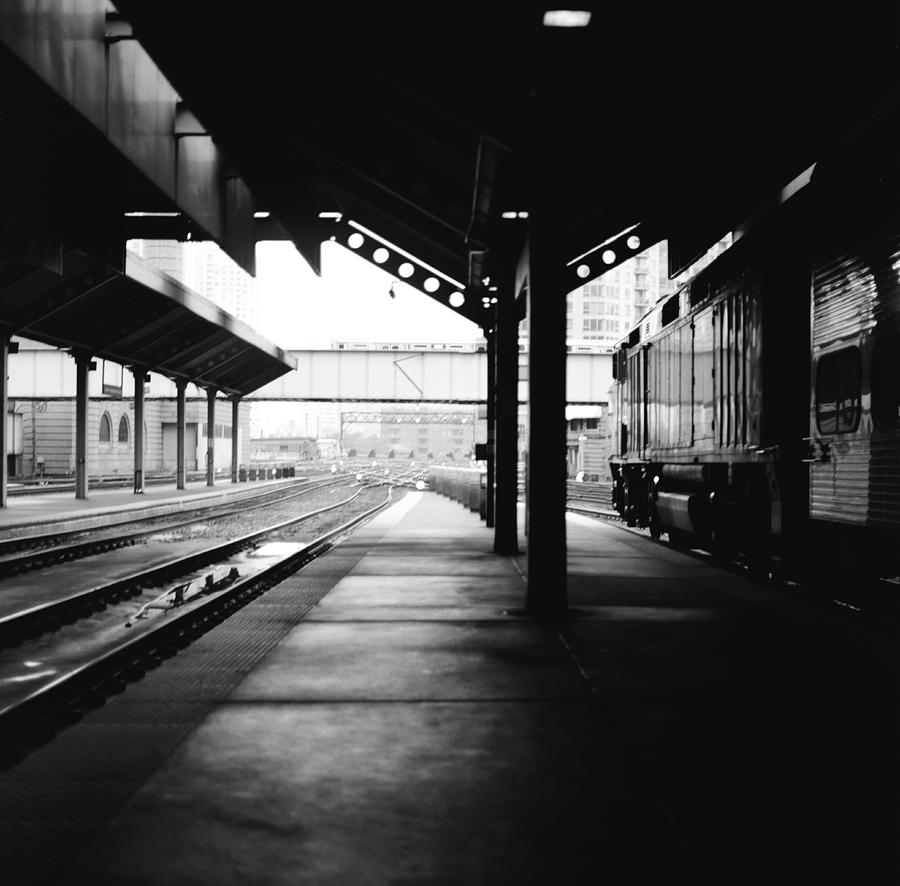 Ogilvie Photograph - Ogilvie Station by Chris Eaves